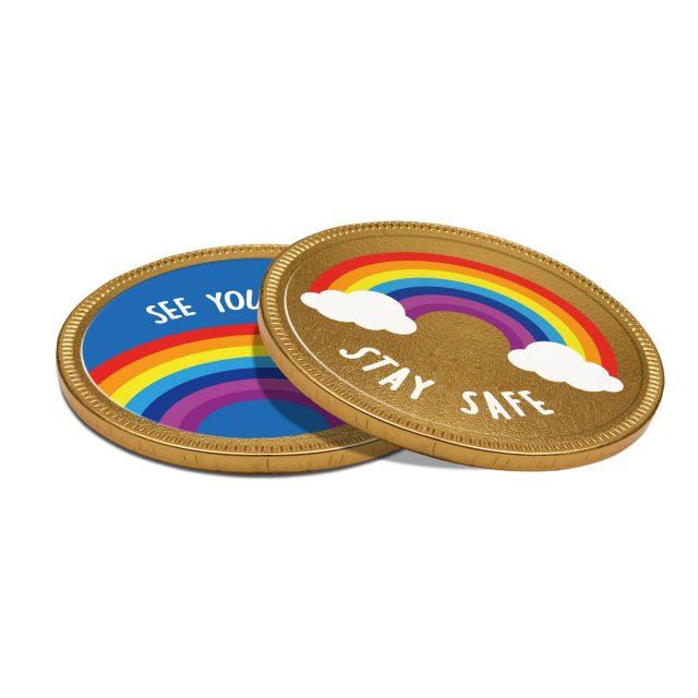 Chocolate Medallion – 125mm