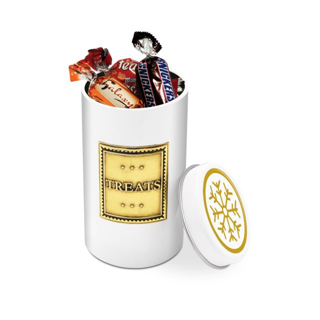 Winter Collection – Snack Tin – Celebrations – Winter Edition