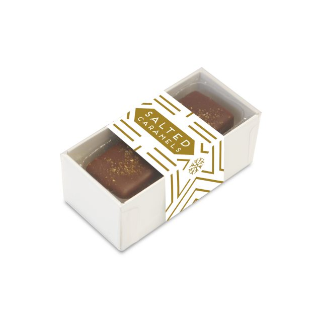 Winter Collection – 2 Choc Box – Dark Chocolate Salted Caramels